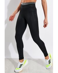 adidas Techfit Badge Of Sport Long Tights - Black