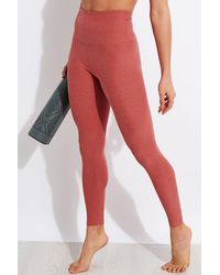 Beyond Yoga Spacedye Caught In The Midi High Waisted legging - Red