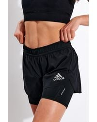 adidas Fast Primeblue Two-in-one Shorts - Black