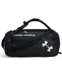 Under Armour Contain Duo Medium Duffle - Black