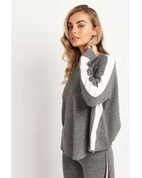 Sundry - Long Sleeve Raglan Sweatshirt - Lyst