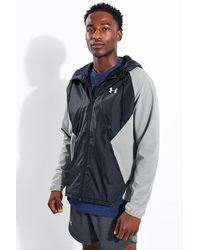 Under Armour Stretch Woven Full Zip Jacket - Blue