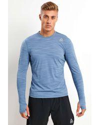 Reebok Running Activchill Long Sleeve Tee - Blue