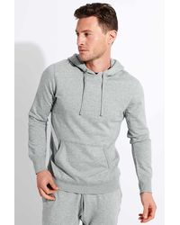 Reigning Champ Lightweight Terry Pullover Hoodie - Grey