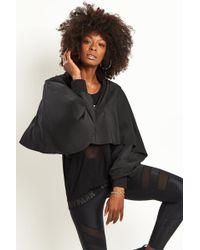 Ivy Park Regal Drape Sleeve Jacket - Black