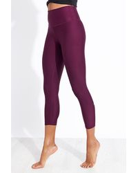 Alo Yoga ® High-waist Airlift Capri - Purple