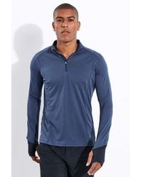 On Running Weather Shirt - Blue