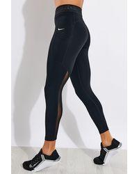 Nike Pro 7/8 Pocket Leggings - Black
