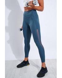 adidas Alphaskin Heat.rdy High Waisted 7/8 Tight - Blue