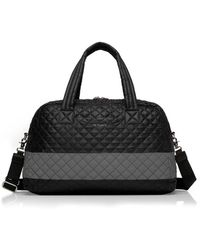 MZ Wallace - Jimmy Tote Bag | Black/reflective - Lyst