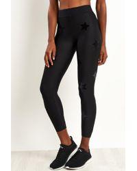 Ultracor Ultra Velvet Star Knockout Leggings - Black