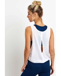 Varley Buckley Crop Top White