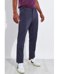 Rhone Commuter Slim Pant - Blue