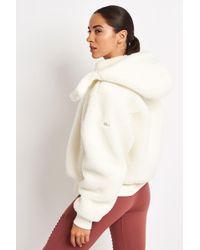 Alo Yoga Foxy Sherpa Jacket - Natural
