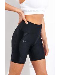 Under Armour Heatgear Armor Shine Bike Shorts - Black