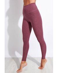 Beyond Yoga Spacedye Caught In The Midi High Waisted legging - Purple