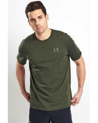 c57d3538 Lyst - Under Armour Men's Ua Charged Cotton® Left Chest Lockup T ...