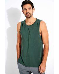 Nike Dri-fit Yoga Tank - Green