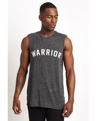 Spiritual Gangster - Warrior Muscle Tank Black - Lyst