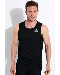adidas Sleeveless t-shirts for Men on Sale - Up to 48% off at Lyst