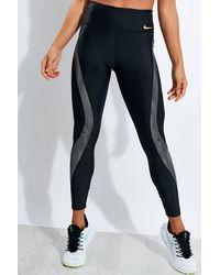 Nike Icon Clash Speed 7/8 Running Tights - Black