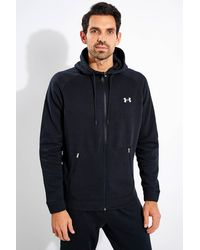 Under Armour Charged Cotton Fleece Full Zip Hoodie - Blue
