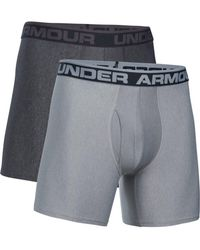 "Under Armour - Ua Original Series 6"" Boxerjock 2 Pack - Lyst"