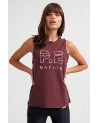 P.E Nation Shuffle Twist Tank - Multicolour