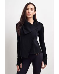 Alala - Sophisticate Draped Jacket - Lyst