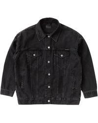 Nudie Jeans Elin Jacket: Black Trace