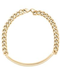 A.P.C. Darwin Bracelet: Gold - Metallic