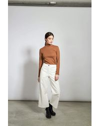 Jan N June Trousers Como Corduroy White