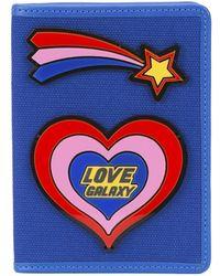Yazbukey - Love Galaxy Plexi Passport Holder - Lyst