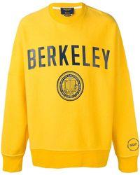 CALVIN KLEIN 205W39NYC Berkeley Sweatshirt - Yellow