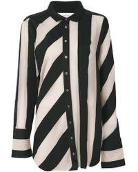 Marques'Almeida - Striped Raw-edged Shirt - Lyst