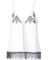 Alexander Wang - Lace Leaf Camisole - Lyst