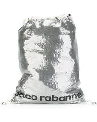 Paco Rabanne - Sequin Embellished Backpack - Lyst
