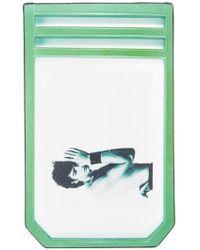 Raf Simons | X Robert Mapplethorpe 'self Portrait' Printed Cardholder | Lyst