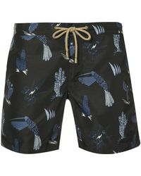 Thorsun - Patterned Swimming Trunks - Lyst