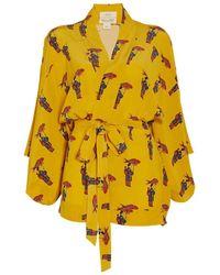 Chufy - Kangoo Short Kimono - Lyst