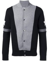 Givenchy - Stars And Stripe Knitted Cardigan - Lyst