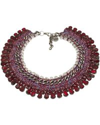 Venessa Arizaga - 'sangria Sunrise' Necklace - Lyst