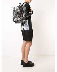 Pierre Hardy | Black & White Cube Backpack | Lyst