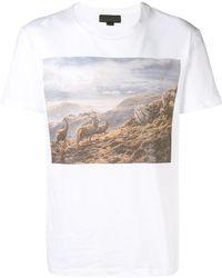Stella McCartney - White Idol Stag T-shirt - Lyst