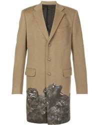 Givenchy - Monkey Brothers Trim Coat - Lyst