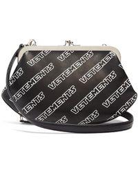 Vetements - Logo Print Granny Bag - Lyst