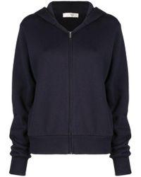 The Row Hooded Sweatshirt Dark Navy - Blue