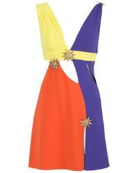 Fausto Puglisi - Multicolor Cut-out Mini Dress - Lyst