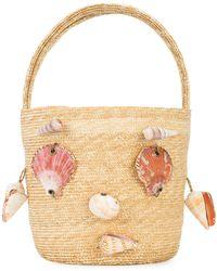 Rosie Assoulin Shell Face Bag - Multicolour
