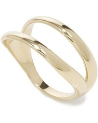 Ana Khouri | Polished Gold 'simplicity' Ring | Lyst
